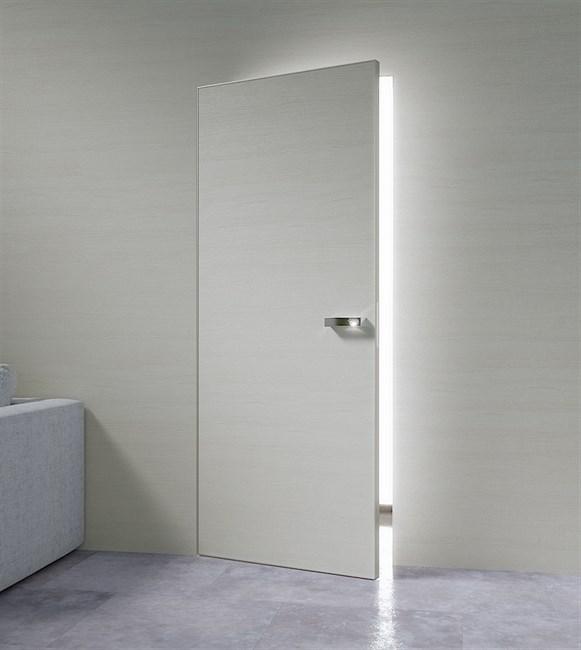 Дверь и короб DESING (дверь-невидимка) комплект наружного открывания - фото 11800