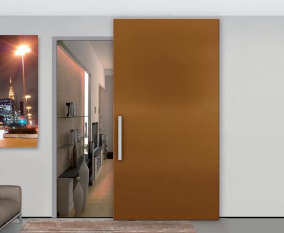 Комплект INVISIBLE WOOD с дверным полотном - фото 11918