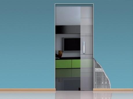 Алюминиевое обрамление Desing для дверных пеналов OpenSpace без наличников - фото 12265