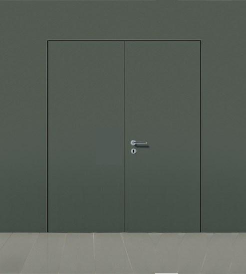 Комплект распашной скрытой двери DESING (дверь-невидимка) наружного открывания - фото 12336