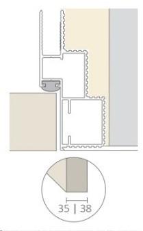 Алюминиевый короб Desing для скрытых дверей - фото 13285