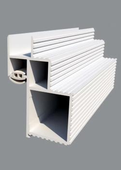Алюминиевый короб для скрытых дверей Pro Design - фото 13474