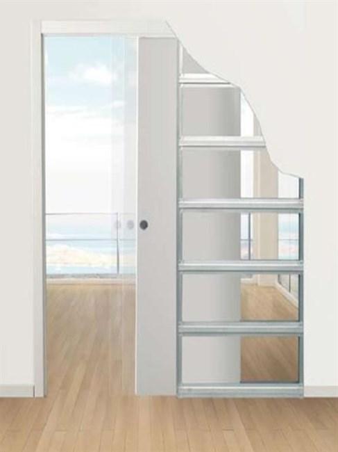 Пенал Eclisse Unico Single для дверей 2000 мм - фото 5662