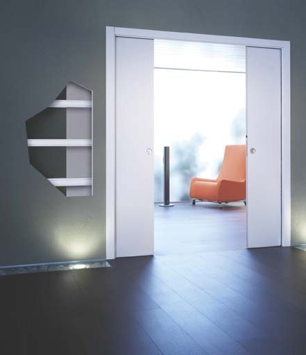 Пенал UNICO DOUBLE для двух дверей 2100 mm - фото 5697