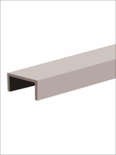 Профиль алюминиевый decor «С» 3000 серебро - фото 6080