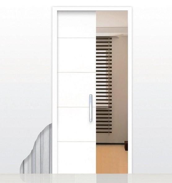 Пенал Open Space UNICO для дверей высотой 2400 мм. - фото 6490