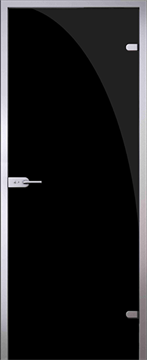 Дверь Триплекс черный