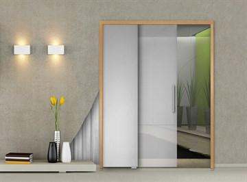 Пенал Open Space PARALELO Glass для телескопических цельностеклянных дверных полотен