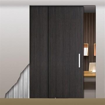 Потолочный дверной пенал Open Space PARALELO Wood Plus Soft (с доводчиком) для дверей 2400-2499 мм