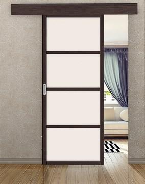 Комплект раздвижной двери Symetric Scorrio V1Wenge