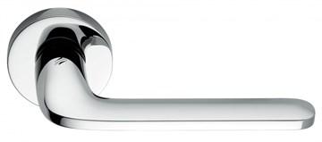 Дверная ручка на круглом основании COLOMBO Roboquattro ID41RSB-CR полированный хром