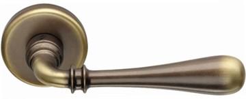 Дверная ручка на круглом основании COLOMBO Ida ID31RSB-BR бронза