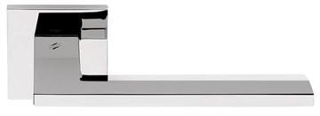 Дверная ручка на квадратном основании COLOMBO Electra MS11RSB-CR полированный хром