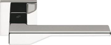 Дверная ручка на квадратном основании COLOMBO Dea FF21RSB-CR полированный хром