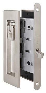 Замок для раздвижных дверей Armadillo SH011 URB SN-3 Матовый никель