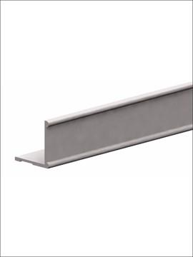 Профиль алюминиевый горизонтальный К2-decor 3000 серебро