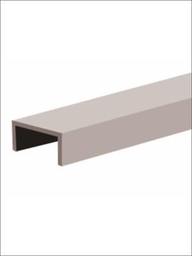 Профиль алюминиевый decor «С» 3000 серебро