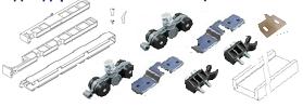 Комплект запасных роликов CASSETON STANDART AKTIVE/EMOTIVE