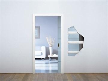 Пенал Eclisse Unico Single Glass для стеклянных дверей