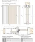 Пенал Open Space PARALELO Wood для двух дверей высотой 2100 мм. - фото 11035