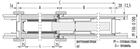 Пенал Eclisse Luce Single для дверей 2000 мм - фото 11669