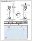 Комплект фурнитуры Openspace Standart Glass до 80кг - фото 13077