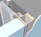 Алюминиевый короб для скрытых дверей Pro Design - фото 13429