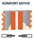 Кассета Casseton KOMFORT AKTIVE 2000 mm - фото 5928