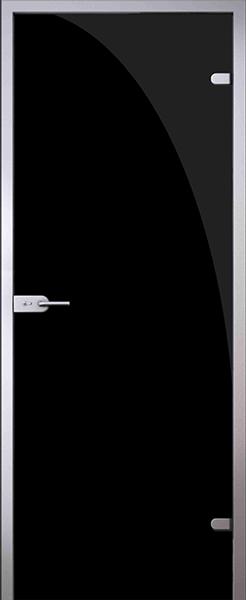 Дверь Триплекс черный - фото 11125