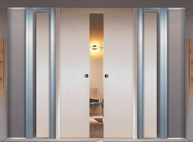 Дверной пенал Scrigno Doorkit Double для двух раздвижных дверей - фото 11637