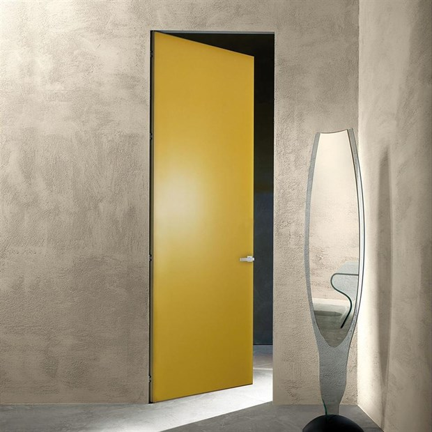 Дверь и короб DESING Zero IN (дверь-невидимка) комплект внутреннего открывания - фото 11806