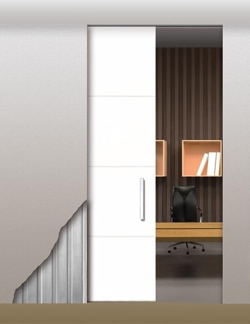 Потолочный дверной пенал Open Space UNICO Plus для дверей 2400-2499 мм - фото 12106