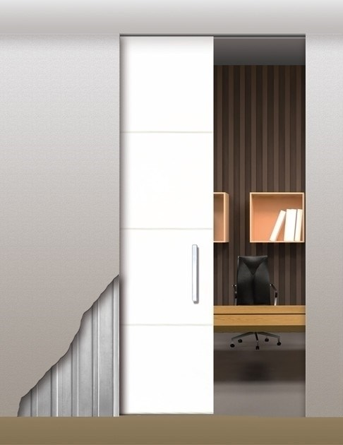 Потолочный дверной пенал Open Space UNICO Plus Soft (с доводчиком) для дверей 2700-2799 мм - фото 12130