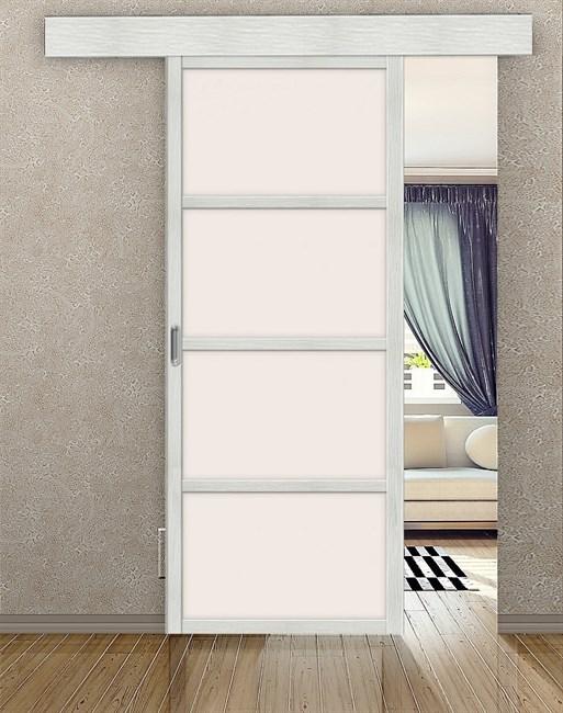 Комплект раздвижной двери Symetric Scorrio V1 Bianco - фото 12490