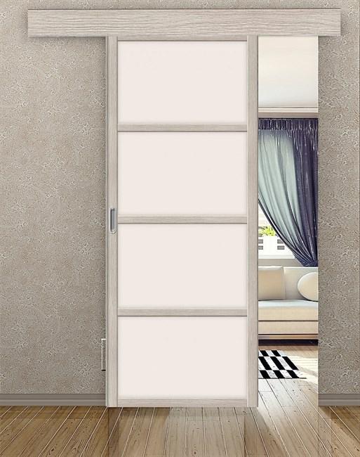 Комплект раздвижной двери Symetric Scorrio V1 Cappuccino - фото 12497