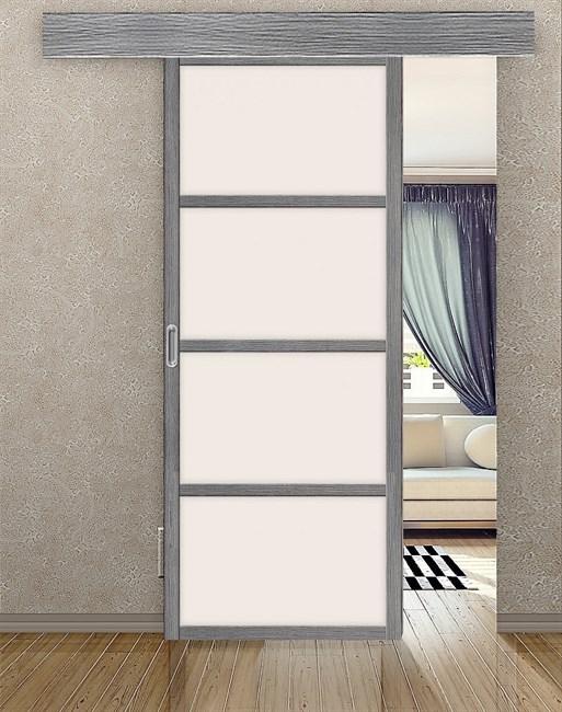 Комплект раздвижной двери Symetric Scorrio V1Grey - фото 12511