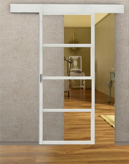 Комплект раздвижной двери Symetric Scorrio V2 Bianco - фото 12526