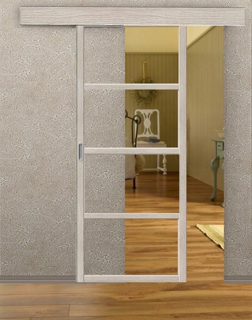 Комплект раздвижной двери Symetric Scorrio V2 Cappuccino - фото 12533