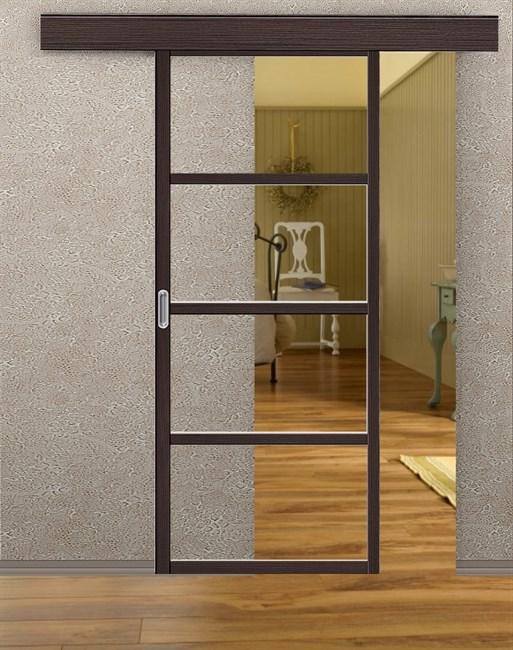 Комплект раздвижной двери Symetric Scorrio V2 Wenge - фото 12539