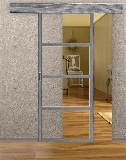 Комплект раздвижной двери Symetric Scorrio V2 Grey - фото 12545