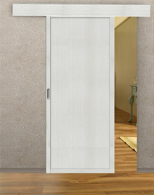 Комплект раздвижной двери Symetric Scorrio V3 Bianco - фото 12564