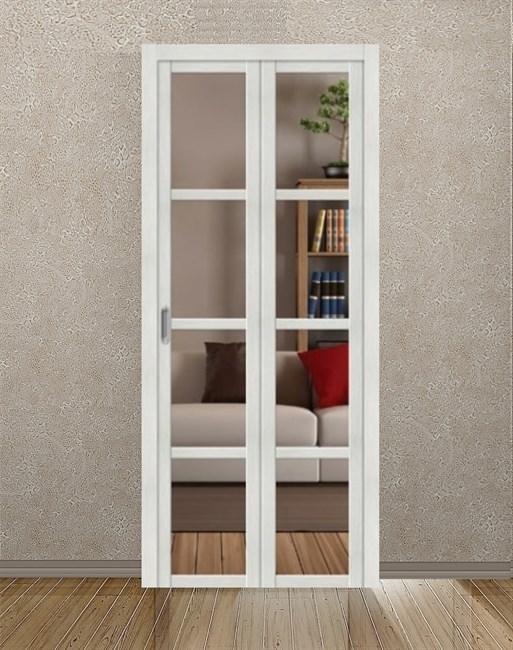 Комплект складной двери Symetric Amareno Plus V6 Bianco - фото 12876