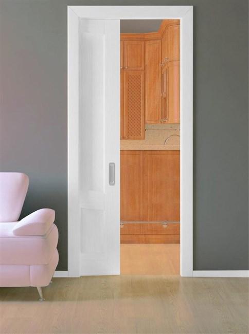 Комплект пенала Casseton ProfiKit с комплектом обрамления и дверным полотном под покраску - фото 12950