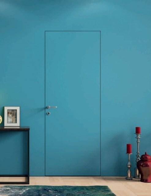 Дверь и короб Secret (дверь-невидимка) комплект наружного открывания - фото 13116