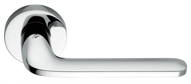 Дверная ручка на круглом основании COLOMBO Roboquattro ID41RSB-CR полированный хром - фото 13143