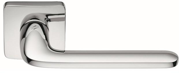 Дверная ручка на квадратном основании COLOMBO Roboquattro S ID51RSB-CR полированный хром - фото 13162