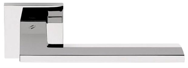 Дверная ручка на квадратном основании COLOMBO Electra MS11RSB-CR полированный хром - фото 13205