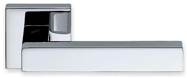 Дверная ручка на квадратном основании COLOMBO Elesse BD21RSB-CR полированный хром - фото 13223