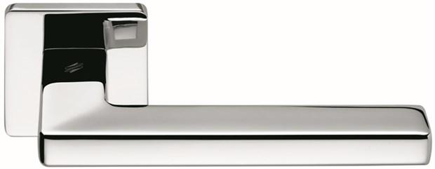 Дверная ручка на квадратном основании COLOMBO Esprit BT11RSB-CR полированный хром - фото 13231