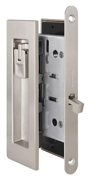 Замок для раздвижных дверей Armadillo SH011 URB SN-3 Матовый никель - фото 13352